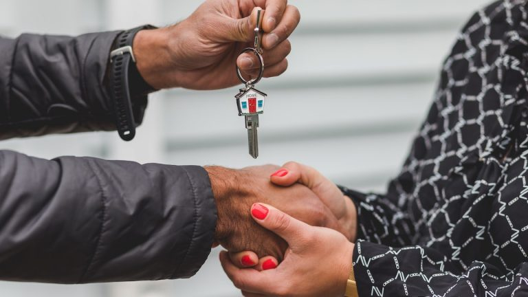 getting keys after buying an investment property
